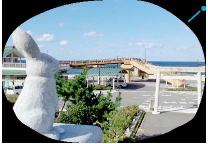 白兎海岸・白兎神社