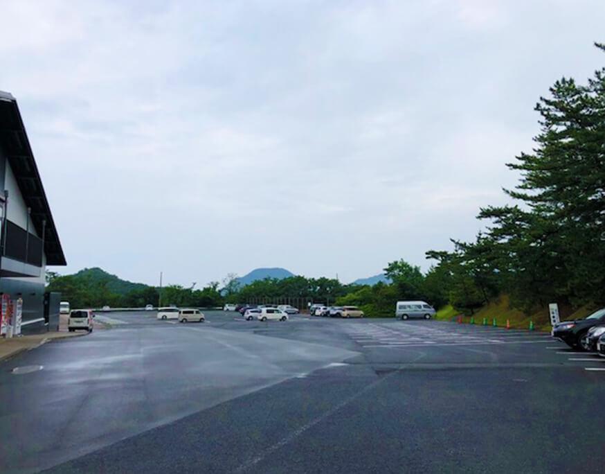 鳥取砂丘 砂丘センター 駐車場