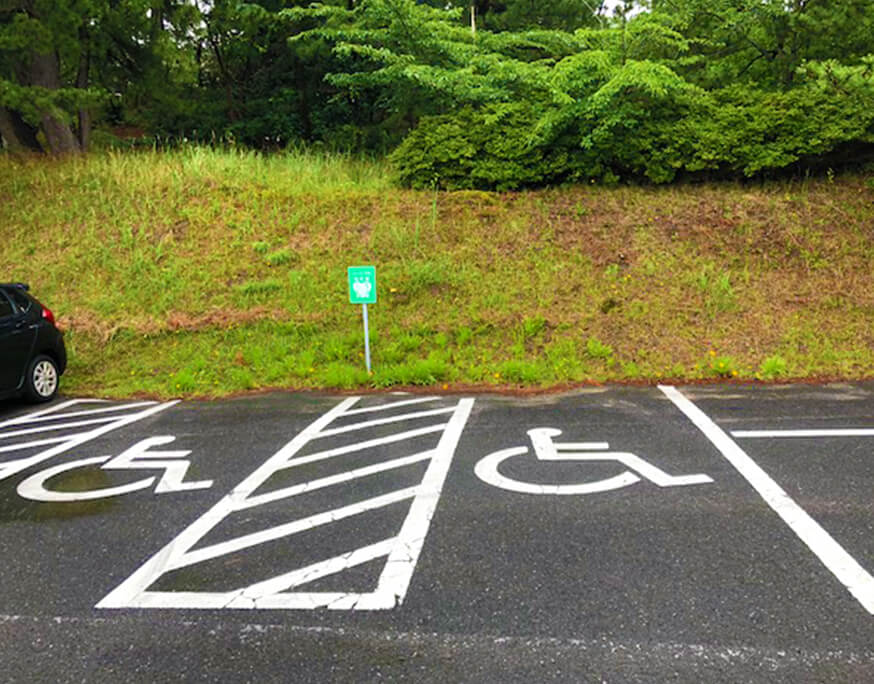 鳥取砂丘 砂丘センター ハートフル駐車場