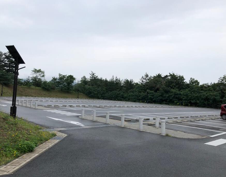 鳥取砂丘 展望駐車場 自家用車駐車場