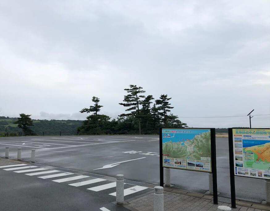 鳥取砂丘 展望駐車場 バス駐車場